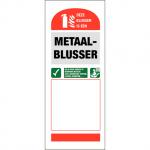 Info Blusser Metaal