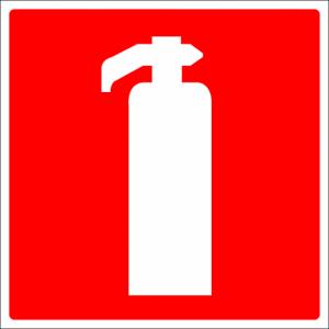 Brandblusser sticker Brandblusser stickers